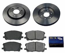 Front Ceramic Brake Pad Set& Rotor Kit for 2008-2010 2012 Nissan Pathfinder 4.0L