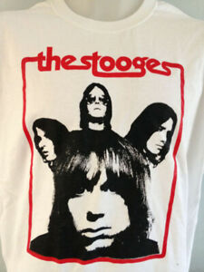 THE STOOGES  IGGY POP MUSIC T SHIRT AMERICAN ROCK BAND