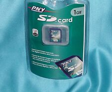 """PNY Technologies P-SD1G-RF3 1GB SD Card """"New- Factory Sealed – Great Find"""" SALE!"""