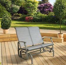 Garden Recliner Chair Double Rocker Outdoor Lounge Sun Beach Garden Patio