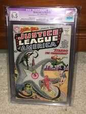 Brave and the Bold #28 CGC 6.5 DC 1960 1st Justice League of America! JLA! F8 cm