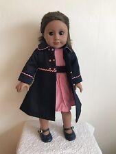 """18"""" Pouces poupée fille manteau robe et chaussures American Girl notre génération"""