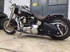 Swing arm Bag for Harley Davidson black Saddle bag toolbag motocycle solo left