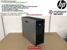 HP Z800 Gaming Workstation, 2x Xeon X5675 3.06GHz, 96GB, 1TB HDD, Quadro 5000