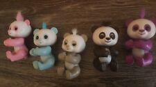 Interactive Smart Fingerling Baby Finger PandaToy Pink,Blue,Grey,Purple or Blk