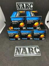 5x Imation Scotch Chrome 100 COLOR  35mm EXPIRED FILM  produced by Ferrania