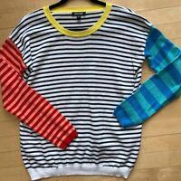 Unwine Striped Sweater, M, Cb523