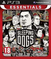 Sleeping DOGS: PLAYSTATION 3 Essentials PS3 SIGILLATO Nuovo di zecca e