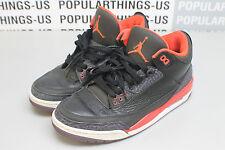Nike Air Jordan Retro 3 III Crimson Black Size 10.5 Beaters No Box