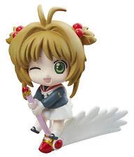 Card Captor Sakura School Uniform Winking Petit Chara Land Trading Figure New