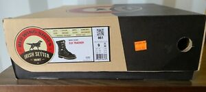 Irish Setter 861 Elk Tracker Waterproof Hunting Boot scent ban Men's Size 9 D