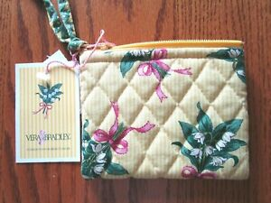 Vera Bradley Coin Purse in Hope Yellow-New With Tag