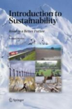 Introduction to Sustainability: Road to a Better Future, Munier, Nolberto, Good