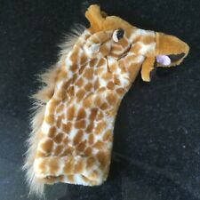 The Puppet Company - Long Sleeves - Giraffe Hand Puppet