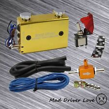 DUAL STAGE SWITCH MANUEL ADJUST TURBO WASTEGATE BOOST BYPASS CONTROLLER GOLD DC2