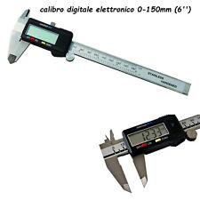 CALIBRO  ELETTRONICO DIGITALE0-150 mm(6'') CALIBRO DOPPIA LETTURA IMPERIALE