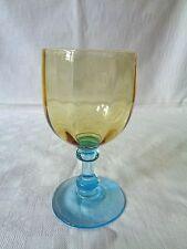 LEGRAS GEORGE SAND WINE GLASS VERRE A VIN DE COULEUR COLORÉ 301 19ÈME XIXÈME