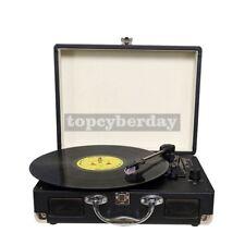 Portable Gramophone LP Vintage machine Antique Vintage Phonograph Record Player