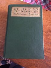 Of Human Bondage W. Somerset Maugham First Edition 1915
