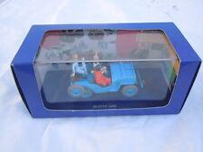 La Jeep d'objectif lune Hergé Moulinsart 2001 en voiture Tintin Willys Cj 2a
