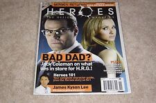 HEROES THE OFFICIAL MAGAZINE #6 HAYDEN PANETTIERE * JAMES KYSON LEE * NEW 2008