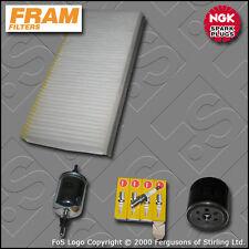 SERVICE KIT SAAB 9-3 1.8 16V ->3515366 OIL FUEL CABIN FILTER PLUGS 2003-2005