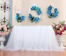 Tulle TUTU Table Skirt Cover Birthday Wedding Festive Party Decor Table Cloth WH