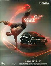Publicité Advertising 079  2006   nouvelle Honda  Civic  2*