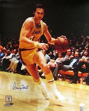 LA Lakers JERRY WEST Signed 16x20 Photo #3 AUTO HOF - 1972 NBA Champs - JSA