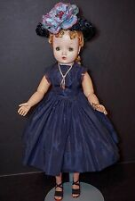 """Vintage Madame Alexander 21"""" BLONDE CISSY Doll WITH Tagged Outfit"""