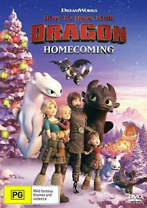 How To Train Your Dragon Homecoming, NEW SEALED REGION 4 lot 587