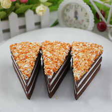 10cm Fake Chocolate Cake Household Decortion Play Squishy Charms Cake Shop Props