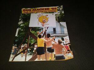 1986 Gus Macker Basketball Tournament Program