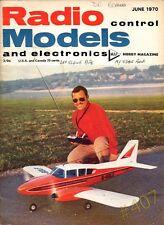 DAS KLEIN BIPE Radio Control Models and Electronics Magazine June 1970 MAP Hobby