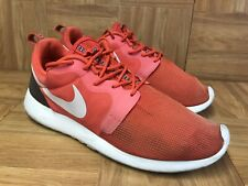 new product b4bc0 2757d RARE🔥 Nike Roshe Run Rosherun Hyper Crimson Orange Sz 8 636220-600 Men s  Shoes