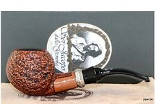SER JACOPO S2 Opus Silber | Hand Made in Italy | Pfeife Pipe 9mm Filter 310