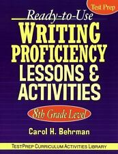 J-B Ed Test Prep: Writing Proficiency Lessons and Activities 66 by Carol H.