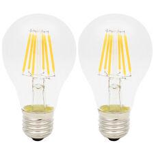 2x 6W LED Filament Glühfaden Lampe Fadenlampe 2700K Warmweiß Nicht Dimmbar