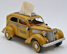 European Finery 1:12 Scale 1930 Yellow American Model Taxi Decoration Sale Decor