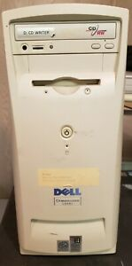 Vintage Dell Dimension L866r Computer PIII 866MHz 128MB