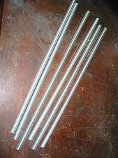 lot 6 tubes tige fileté de lampe lustre +ou-30cm x Ø 10 mm    Pièce de lampe lus