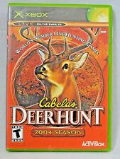 Cabela's Deer Hunt: 2004 Season Complete Game, Box, Manual
