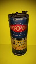 VINTAGE! RAYOVAC TELEPHONE DRY CELL
