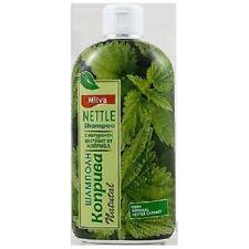 Milva Shampoo With 100% Natural Nettle Extract - Anti Dandruff 200 ml