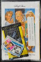 US Marilyn Monroe & Elvis Superstar Stamp Collection