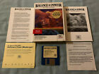 Balance Of Power - 1988 Apple Iigs Computer Mindscape Video Game Complete In Box