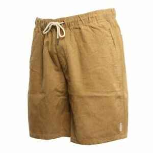 Quiksilver Men's Wax Out  British Khaki Cord Shorts Size:  M