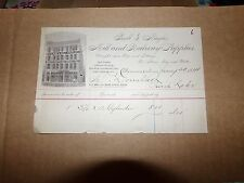 1884 Ball & Naylor Mill and Railway Supplies Minnesota Letterhead