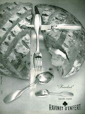 Publicité ancienne ravinet d'Enfer 1959 J. Boulas issue de magazine
