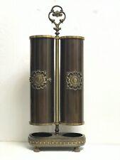 Portaombrelli porta ombrelli deco design primi novecento ottone rame bronzo